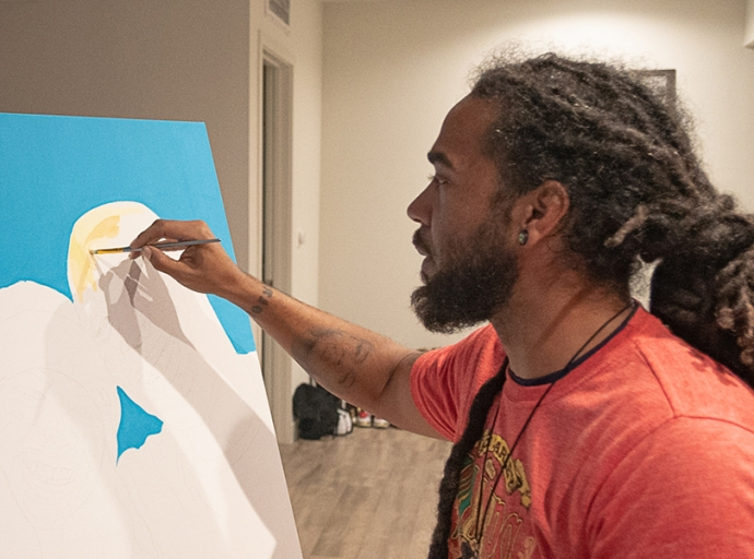 Artist Keenan Chapman: How Art Therapy Changed this Black Man's Life and His Mission to Inspire the Next Generation