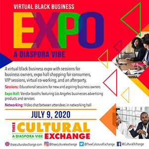 Thee Cultural Exchange Virtual Black Business Expo